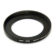M40-M52 M40 x0.75 Male to Female M52 40mm to 52mm Coupling Ring Adapter For Lens