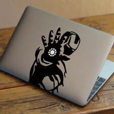 "Iron Man Apple Macbook Decal Sticker encaja 11"" 12"" 13"" 15"" y 17"" Modelos"