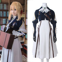 Violet Evergarden Auto Memory Doll Cosplay Costume Dress Complete Outfit Suit
