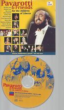 CD--LUCIANO PAVAROTTI & FRIENDS FOR THE CHILDREN OF LIBERIA // PROMO