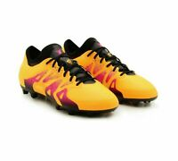 adidas X 15.1 Firm Ground Junior Size 4.5 Gold RRP £80 Brand New S74615 PRO BOOT
