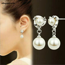 Freshwater Pearl Drop Dangle Women Earrings + Free Gift Bag