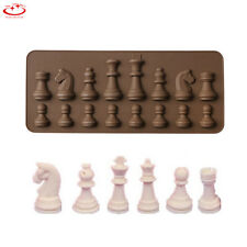 3D Chess Silicone Fondant Mold Candy Chocolate Mould Cake Decorating Baking Tool