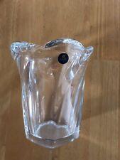 """Vintage Royal Copenhagen Lead Crystal Modernist """"Galaxi"""" Vase 7"""""""
