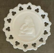 More details for queen victoria jubilee  american made lacy pressed glass plate