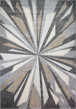 Natural Beige Grey Rugs Dining Room Area Soft Rug All Sizes Modern Home Decor