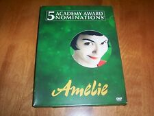 AMELIE Special Edition 2-Disc Set Audrey Tautou Mathieu Kassovitz DVD SET