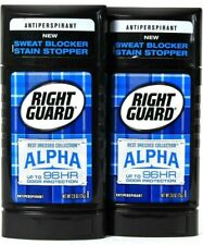 2 Count Right Guard 2.6 Oz Best Dressed Collection Alpha 96Hr Antiperspirant.