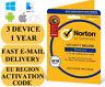 Norton Internet Security Deluxe 3 Device / 1 Year EU REGION Key 2019