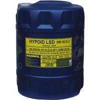 20 Liter MANNOL Schaltgetriebeöl Hypoid LSD 85W-140 API GL-5 LS Getriebeöl