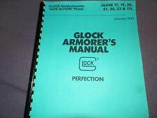 Glock Armorer'S Manual, Gunsmith's Bible, 60Pages