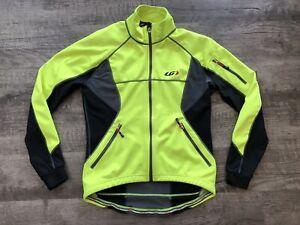 Louis Garneau Enerblock Cycling Jacket Women's Size Medium Yellow