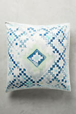 💕 perfect gift 💕  Anthropologie Quercus & Co. Emblem-Printed Two Euro Sham NWT