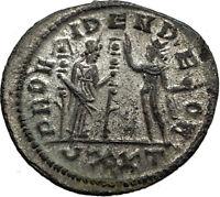 SEVERINA Aurelian wife 274AD Rome Authentic Ancient Roman Coin FIDES SOL i65436