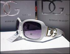 NUOVA linea donna Donna Designer Sovradimensionato Occhiali Cool Bianco Dg Moda Occhiali da sole