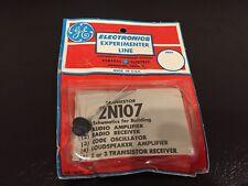 Vintage GE 2N107 Germanium Transistor in Experimenter Package