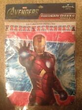 THE AVENGERS Marvel Super Heroes Banner Birthday Party Supply NIP