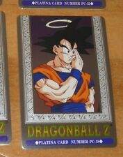 DRAGON BALL Z DBZ HERO COLLECTION PART 3 PLATINA CARD PRISM CARTE PC-18 MINT