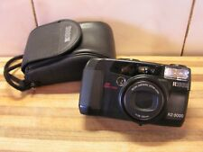 Ricoh RZ-3000 Date, Zoom, 35mm Film Camera, Remote Function, with Warranty, VGC