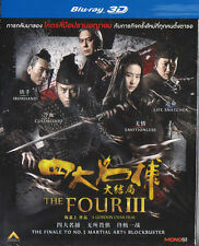 Four III a.k.a. Four 3  (3D Blu-Ray) Chinese movie Eng Sub  <Brand New Blu-Ray>