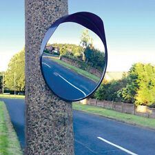 40cm Convex Mirror Outdoor Car Driveway Garage Safety Security Blind Spot Bend