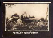 117854 Foto DKW Motoren Mit dem DKW Wagen ins Wochenend 1928 Rasmussen