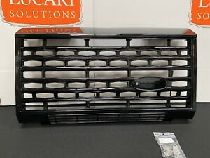 Adventure STYLE gloss black front grille FITS Land Rover Defender 90 110