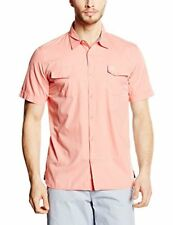 Oxbow Castry Chemise Homme Pêche FR L (taille Fabricant L)