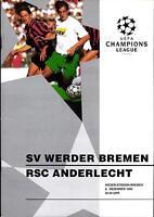EC I CHAMPIONS LEAGUE 93/94 Werder Bremen - RSC Anderlecht, 08.12.1993
