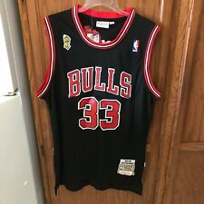 SCOTTIE PIPPEN CHICAGO BULLS Swingman 1997 Throwback NBA VTG HWC Jersey  L NWT