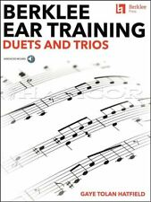 Berklee Ear Training Duets and Trios Sheet Music Book/Audio SAME DAY DISPATCH