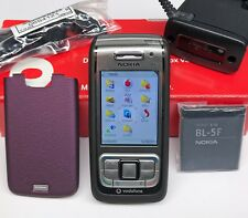 NOKIA E65 SLIDER-HANDY SMARTPHONE UNLOCKED BLUETOOTH KAMERA MP3 WLAN WIE NEU OVP