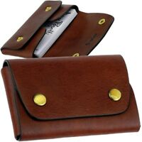 Kartenetui Kreditkartenetui Geldbörse TONY PEROTTI Leder mit RFID Schutz kompakt