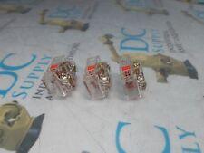 GOULD LR28098 600 VAC 720 VA 10 A RED CONTACT BLOCK LOT OF 3