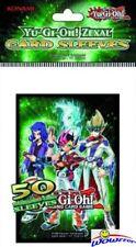Yugioh Konami ZEXAL 50ct CARD SLEEVES DECK PROTECTORS
