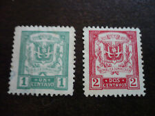 Stamps - Dominican Republic - Scott# 233-234