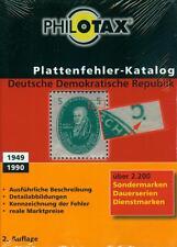 Philotax Plattenfehler DDR 2. Auflage 2014 /2015 NEU