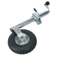 TB372 Sealey Jockey Wheel & Clamp Ø48mm - 260mm Pneumatic Wheel