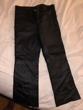 Flowers By Zoe Girl Leather Pants Size 6