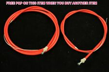 60's,70's,80's RACING BIKE SPORTS CYCLE RACING BICYCLE BRIGHT RED BRAKE CABLE SE
