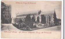 Suffolk, St James's Church, Bury St Edmunds PPC Local 1903 PMK