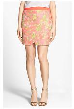 TED BAKER LONDON Keleche' Jacquard Faux Wrap Skirt Sz 3 US 8 (dg-28)