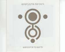 CD APOPTYGMA BERZERK	welcome to earth	VG++ (A3082)