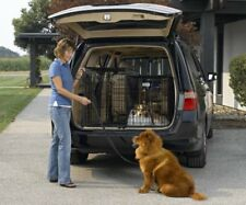 Solution Series Double Door Folding Metal Dog Crate for SUVs & Vehicles TAXFREE