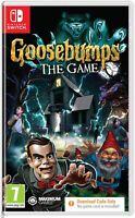 Goosebumps Nintendo Switch Game