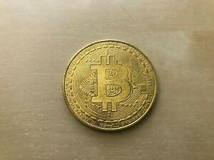 Bitcoin Individual Physical Coin / Token - Crypto Currency Collectible