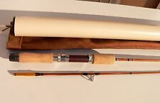 lancer canne à Pêche en BAMBOU REFENDU rod fishing bamboo split cane trout light
