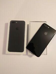 Apple iPhone 7 Plus - 256GB - Jet Black (Unlocked) A1784 (GSM)