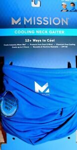 NEW MISSION COOLING NECK GAITER 12+ WAYS TO COOL