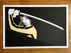 Beatrix Kiddo / Kill Bill / Craig Drake / Mondo movie poster Tarantino